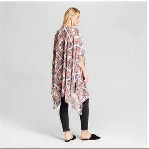 Xhilaration kimono/coverup
